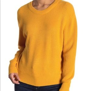 Elodie Mustard Yellow Sweater